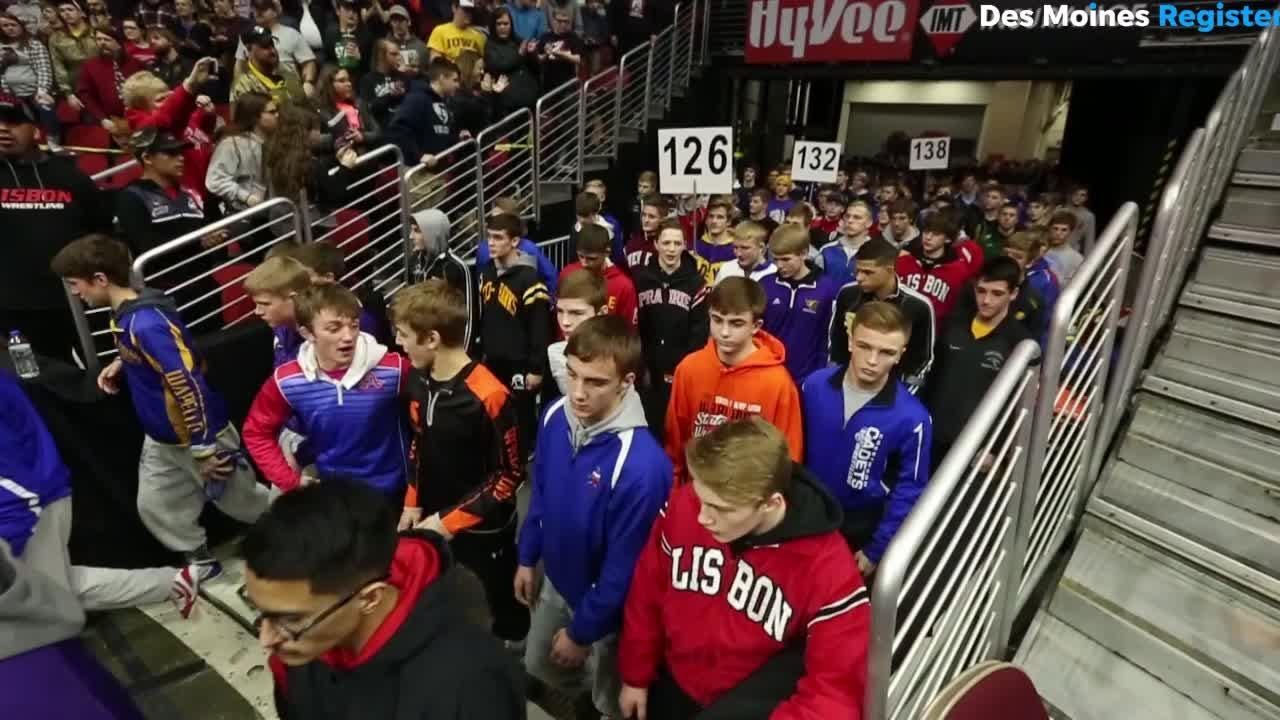 2018 Grand March Iowa State Wrestling Tournament