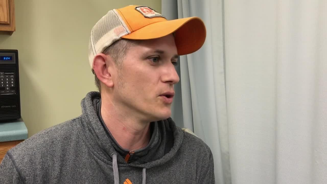 Matthew Thompson talks about his new knee surgery