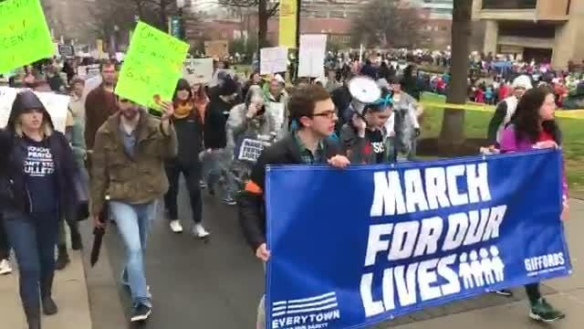 Watch: March for our Lives in Knoxville
