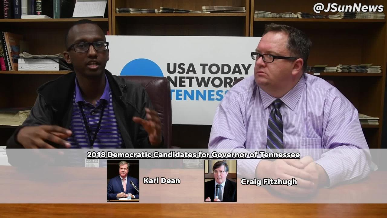 Omer and Brandon discuss the Tennessee Governor candidate forum that will be held in Jackson.