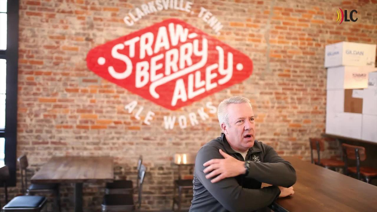 Owner Tom Cunningham talks about the new 7,300-square-foot business on Strawberry Alley