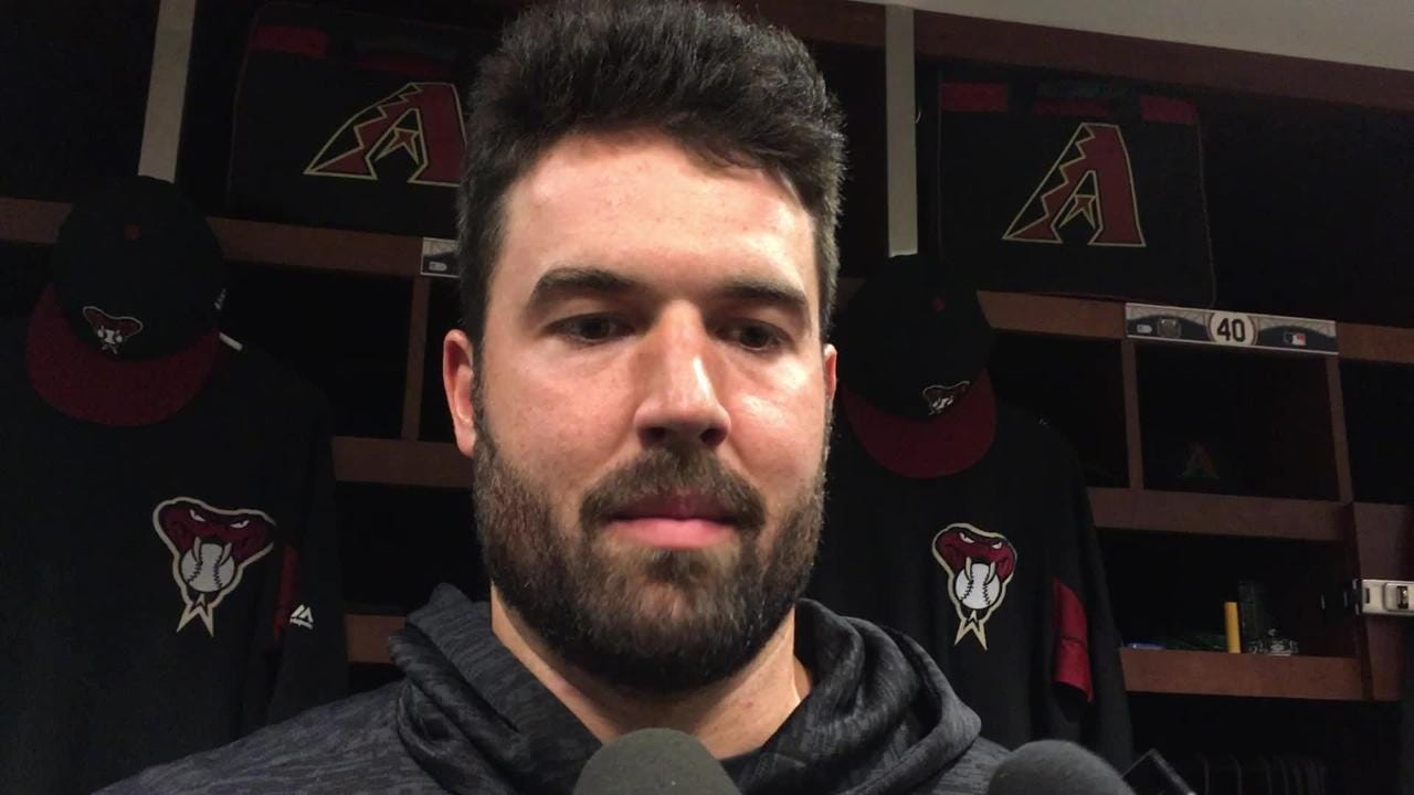 Diamondbacks lefty Robbie Ray gave up just one run on two hits in six innings against the Cardinals, working around five walks in the process.