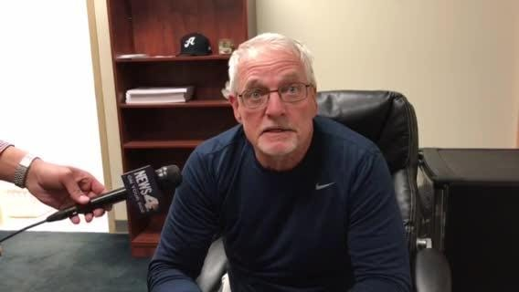 Reno Aces Manager Greg Gross  talks about the offense in the 10-2 win Thursday.