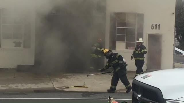 The cause of the fire remains under investigation, Vineland firefighters said.