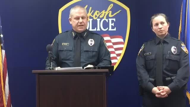 The Oshkosh Police Department held a news conference Friday afternoon to share details of a fatal stabbing on Mt. Vernon Street.