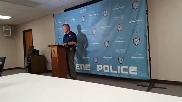 Portion of Abilene Police Chief Stan Standridge's news conference about  indecency with a child cases involving Benjamin Roberts and day cares. 04/06/18