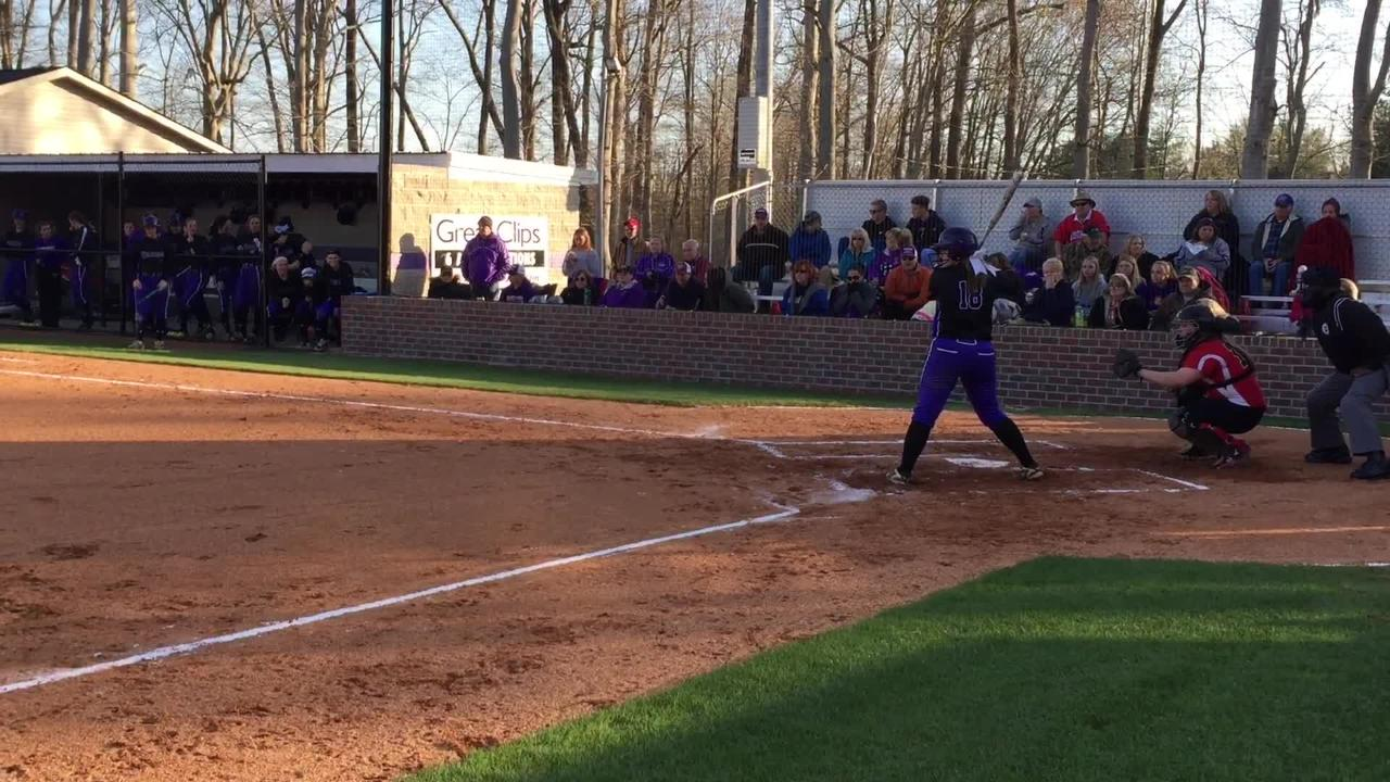 Clarksville scored 13 runs to knock off District 10-AAA rival Rossview in a softball game.