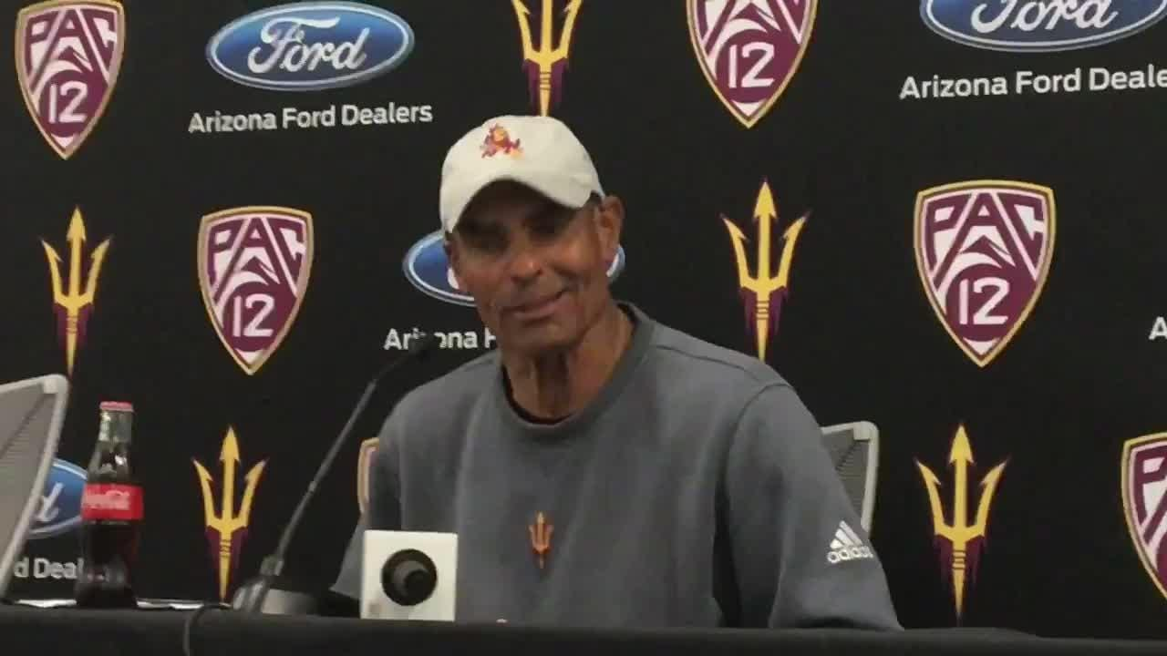 Herm Edwards is looking for players to be confident in what they've learned in spring drills.