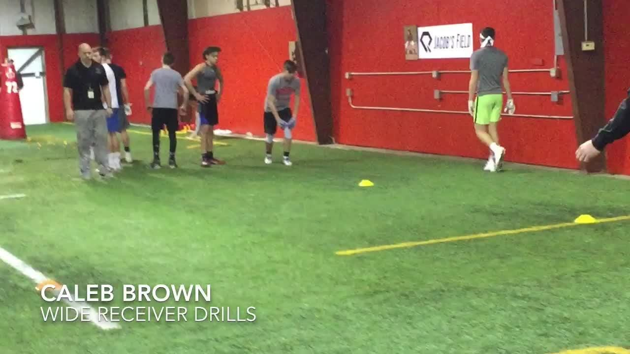 Diamond Cutters Spring Football Camp highlights