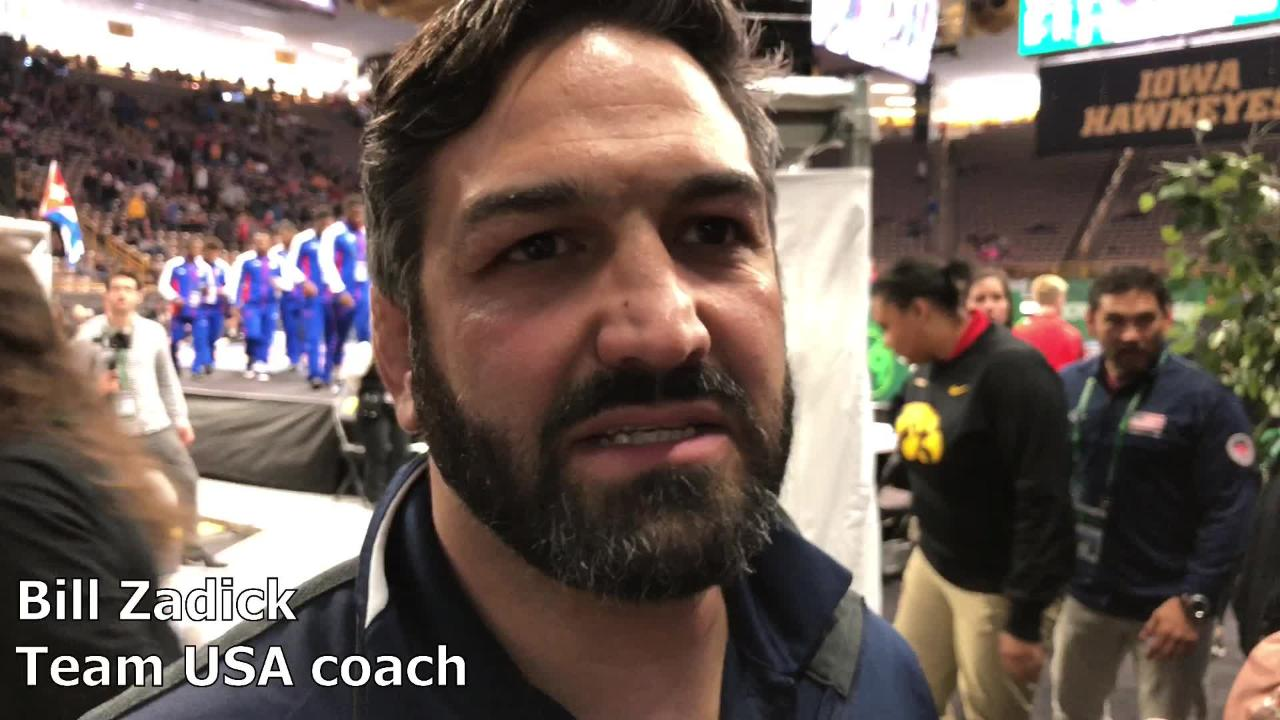 Bill Zadick, head coach of the United States men's freestyle team, recapped his team's 2-0 performance on Saturday at the 2018 UWW Freestyle World Cup.