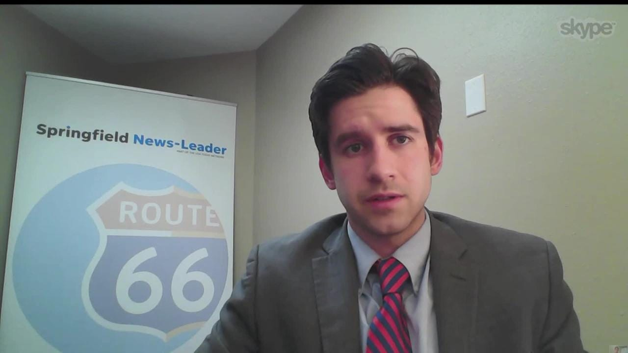 News-Leader political reporter Will Schmitt talks with KOLR10 about the latest from Jefferson City.