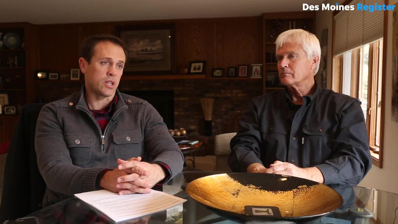 Rick and Grant Kimberley are cautious about the potential $150 billion in tariffs  and their effects on the U.S. agriculture markets.