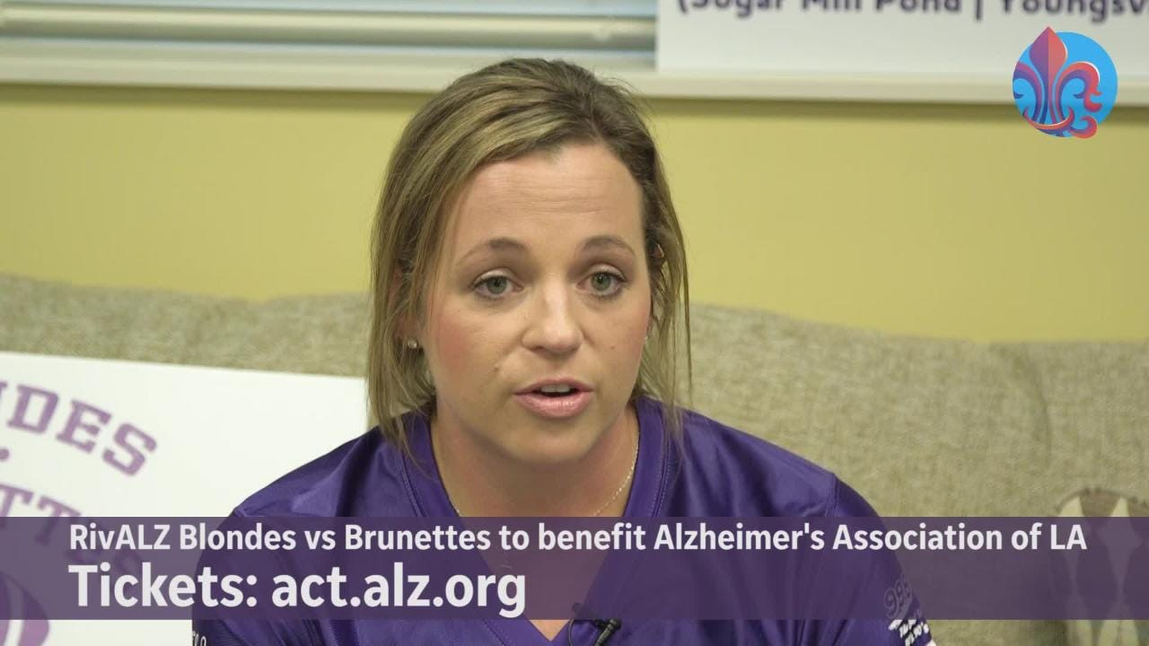 Lafayette women are participating in 'Blondes vs. Brunettes' to help raise money to fight Alzheimer's.