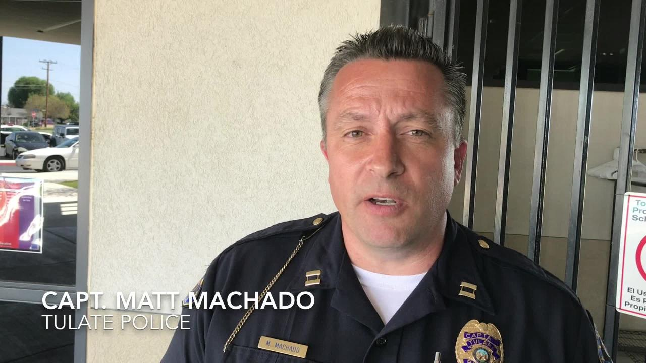 Tulare police respond to Liberty School