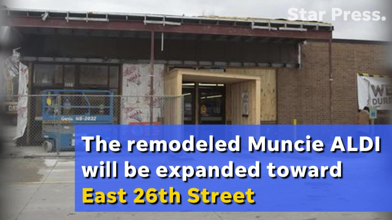 Muncie's southside ALDI will get a $1.2 million makeover