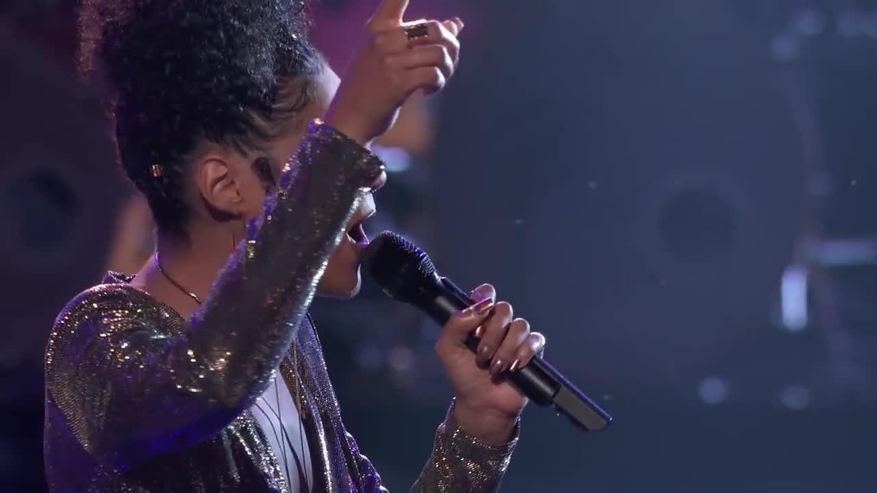 "Newark's Kelsea Johnson advances on ""The Voice"" on April 9. Courtesy of NBC/""The Voice"""