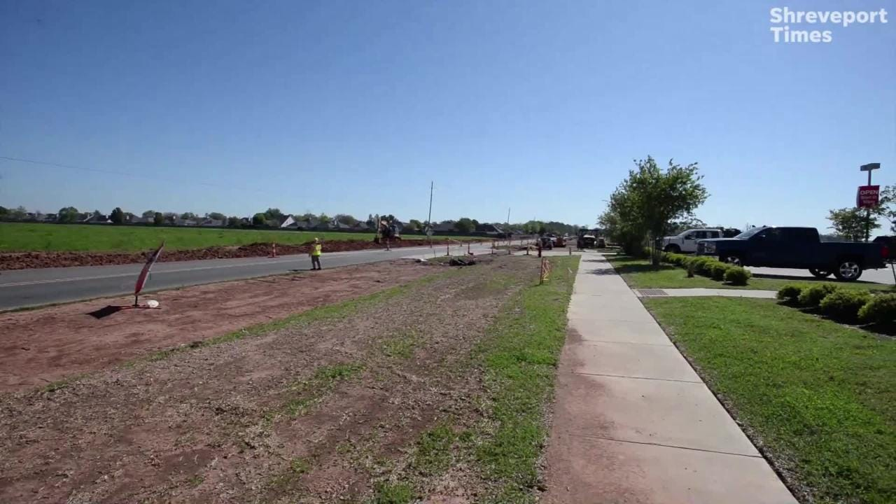 Though Walmart is no longer coming to the corner of Wemple and Airline, Bossier officials are still moving forward with plans to widen Wemple Road.