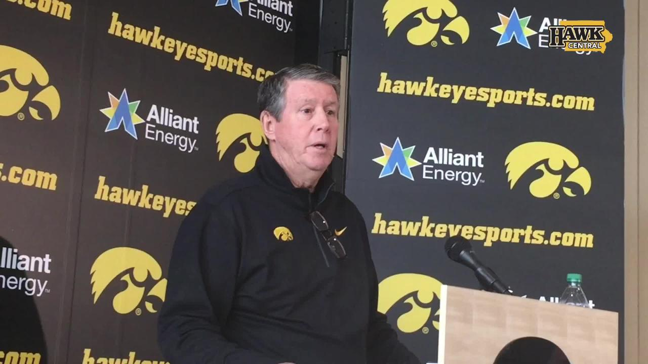 Iowa quarterbacks coach Ken O'Keefe on Nate Stanley and the two freshmen, Peyton Mansell and Spencer Petras, as spring practice continues.