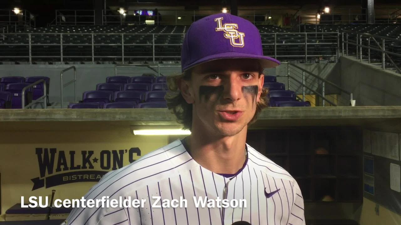 LSU sophomore and West Ouachita grad Zach Watson shares his thoughts on Louisiana Tech's baseball team.