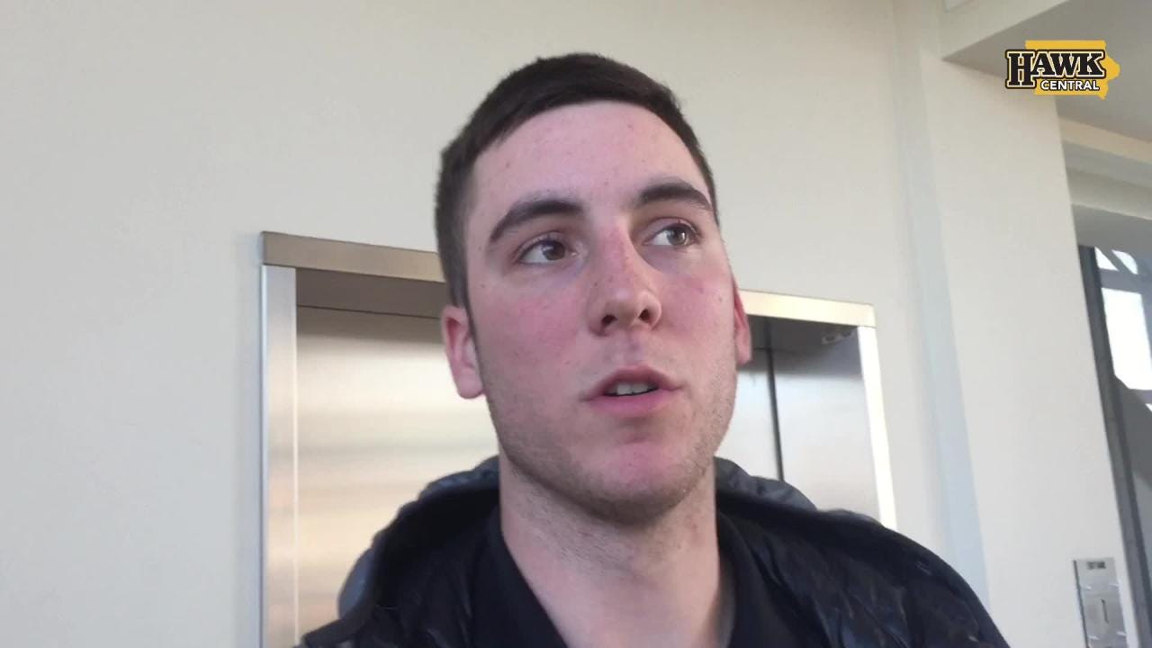 Iowa freshman Connor McCaffery is spending most of his time with the Hawkeye baseball team, while wanting to continue his two-sport plan.