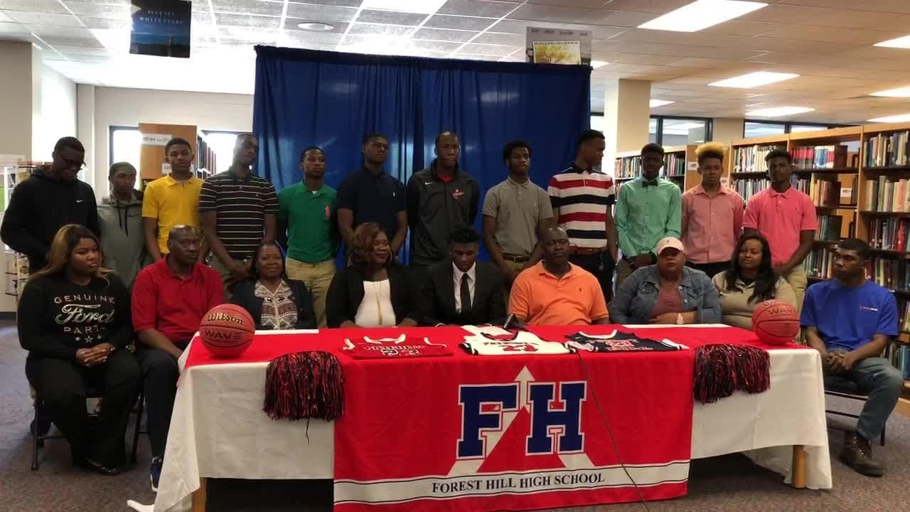Forest Hill star Ladarius Marshall announced Wednesday he will sign with Southern Miss.