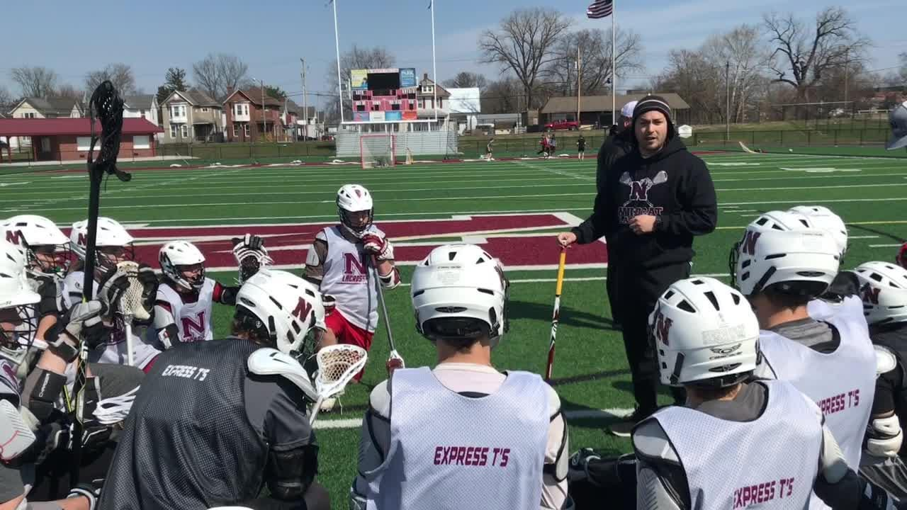 Newark lacrosse earned a well-deserved first victory in program history this past Saturday, beating Xenia 8-7.