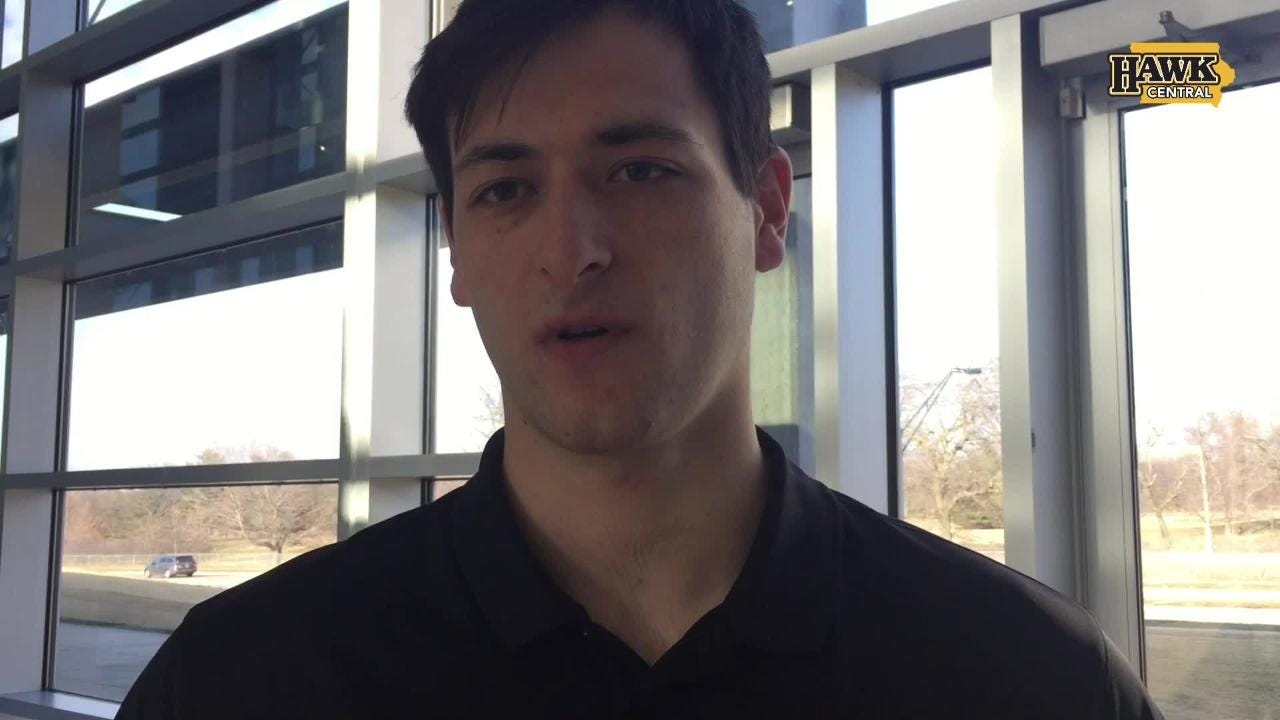 Sophomore forward Ryan Kriener discusses trying to rebound from a disappointing 14-19 season.
