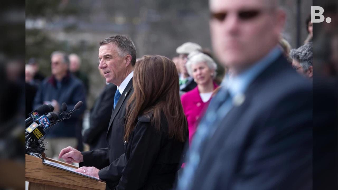 Gov. Phil Scott signed 3 gun reform bills into law at the Statehouse in Montpelier as supporters cheered and critics jeered.