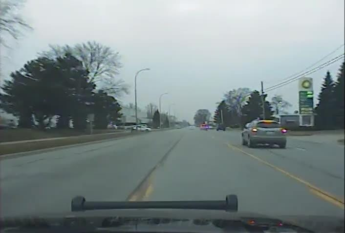 Video: Police chase Camaro before fatal accident