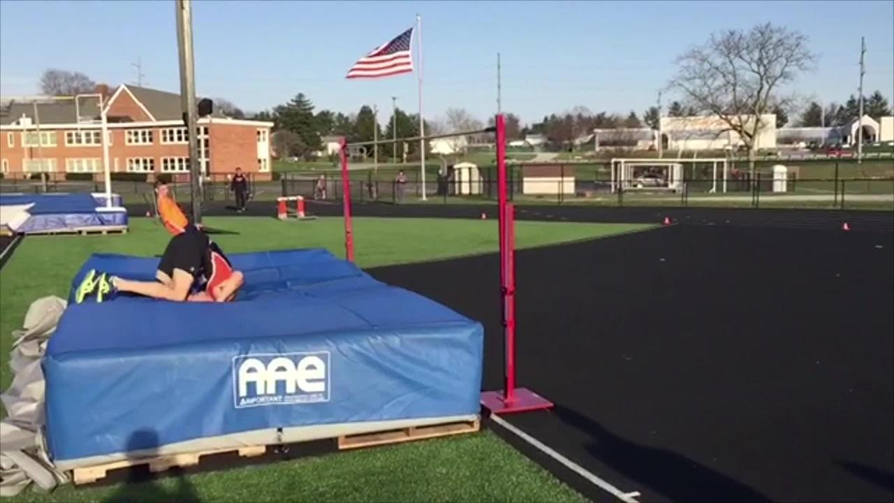 Step by step: How to execute the high jump