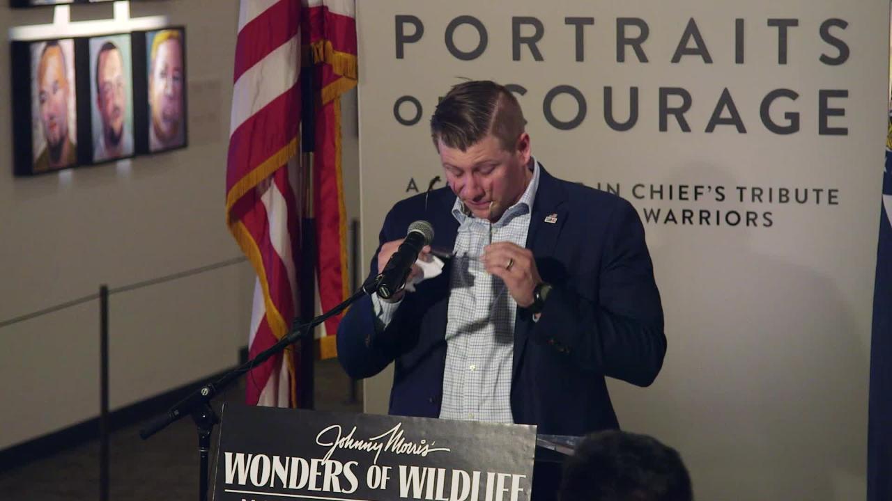 Wonders of Wildlife opens George W. Bush painting exhibit