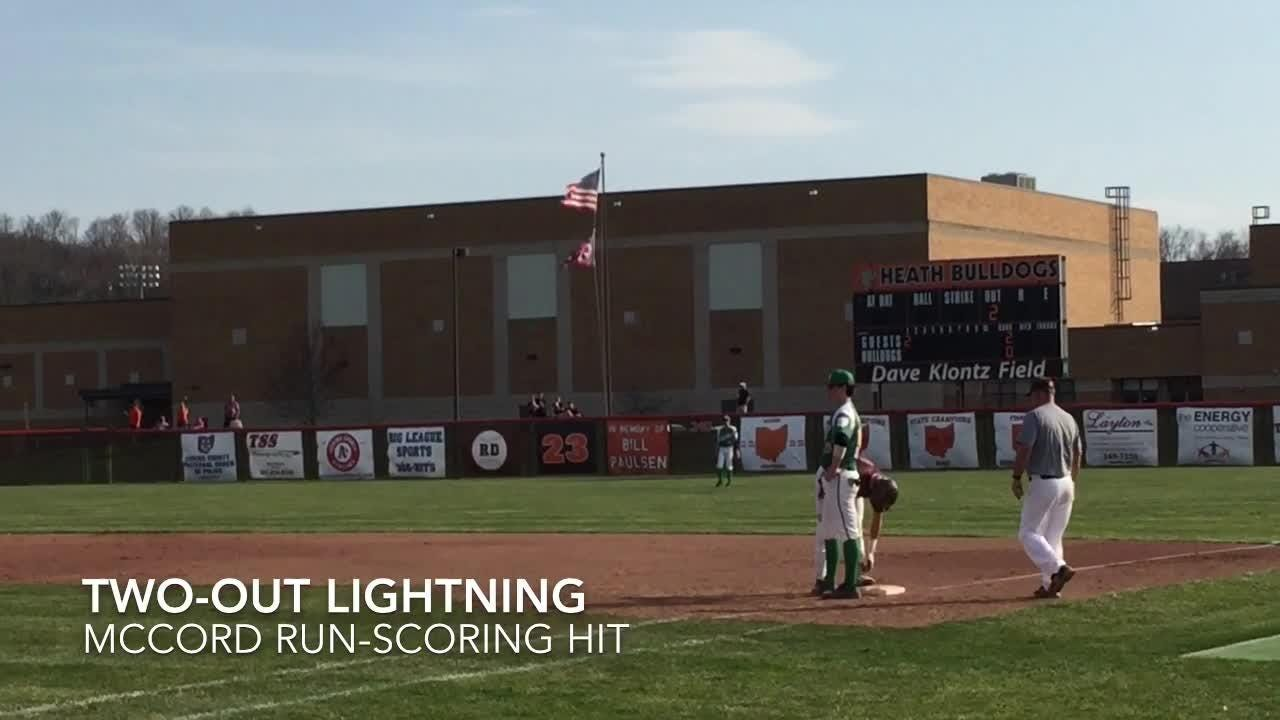 Visiting Newark Catholic beat Heath 13-5 in LCL Cardinal baseball.