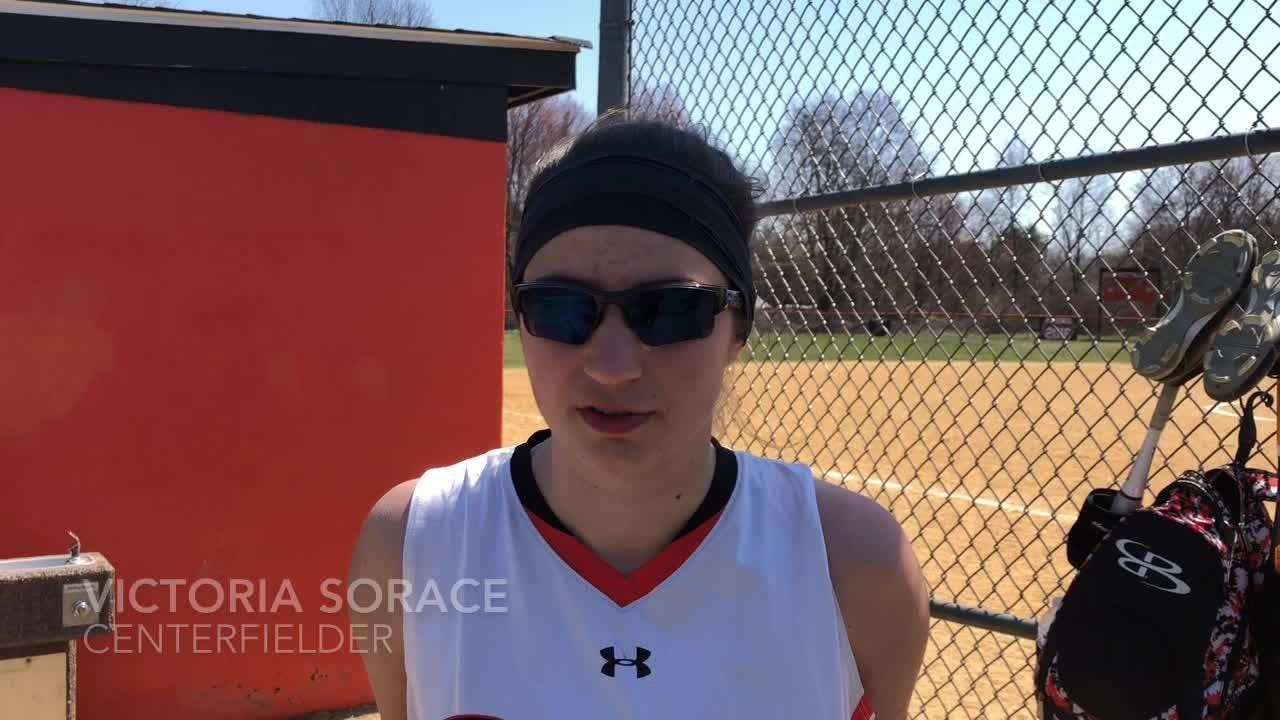 The Marlboro softball team discusses Mel Papuli's toughness and its own resilience after falling to Pine Bush in a comeback.