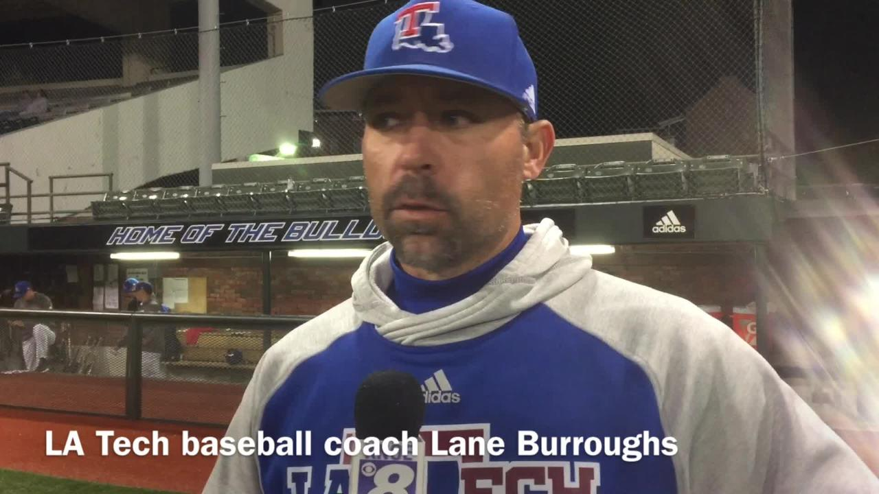 Louisiana Tech head baseball coach Lane Burroughs hopes his team rallies after dropping two games v. Charlotte Saturday at home.