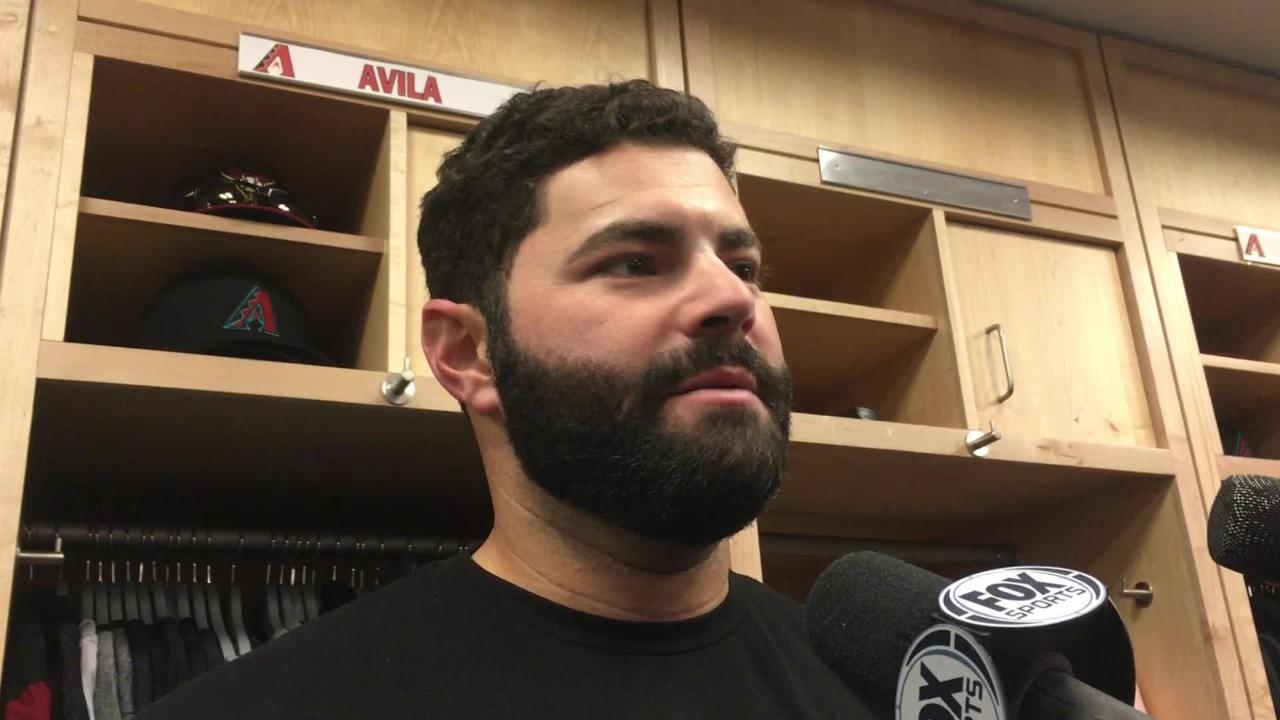 Diamondbacks catcher Alex Avila talks about Taijuan Walker's injury, T.J. McFarland's relief outing and Deven Marrero's home run-turned-single.