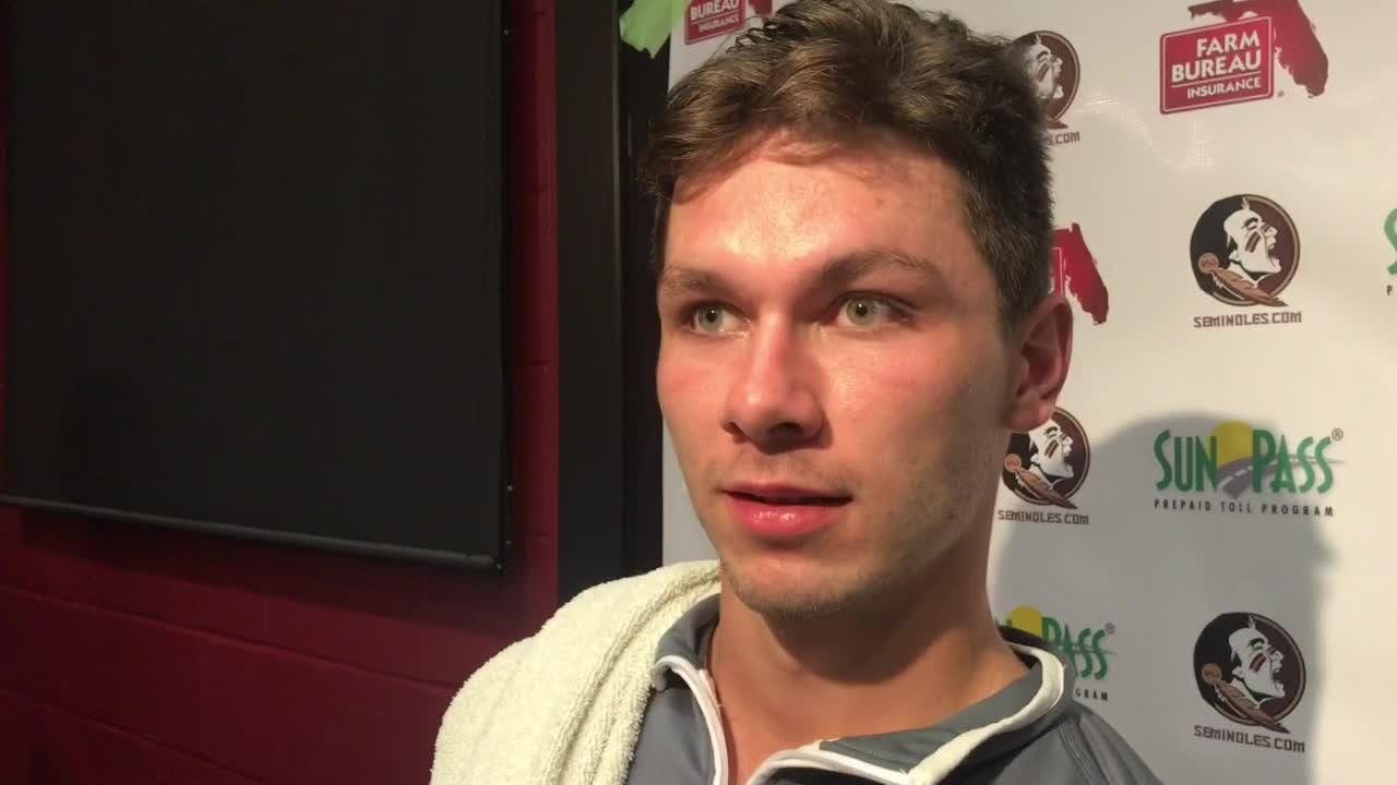 FSU quarterback Bailey Hockman talks about his spring game performance and Tamorrion Terry.