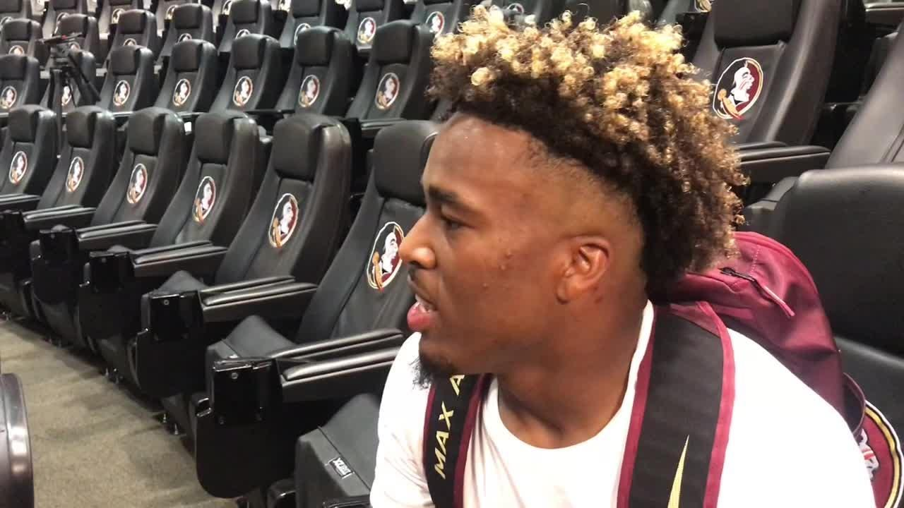 FSU wide receiver talks about his performance in the spring game.