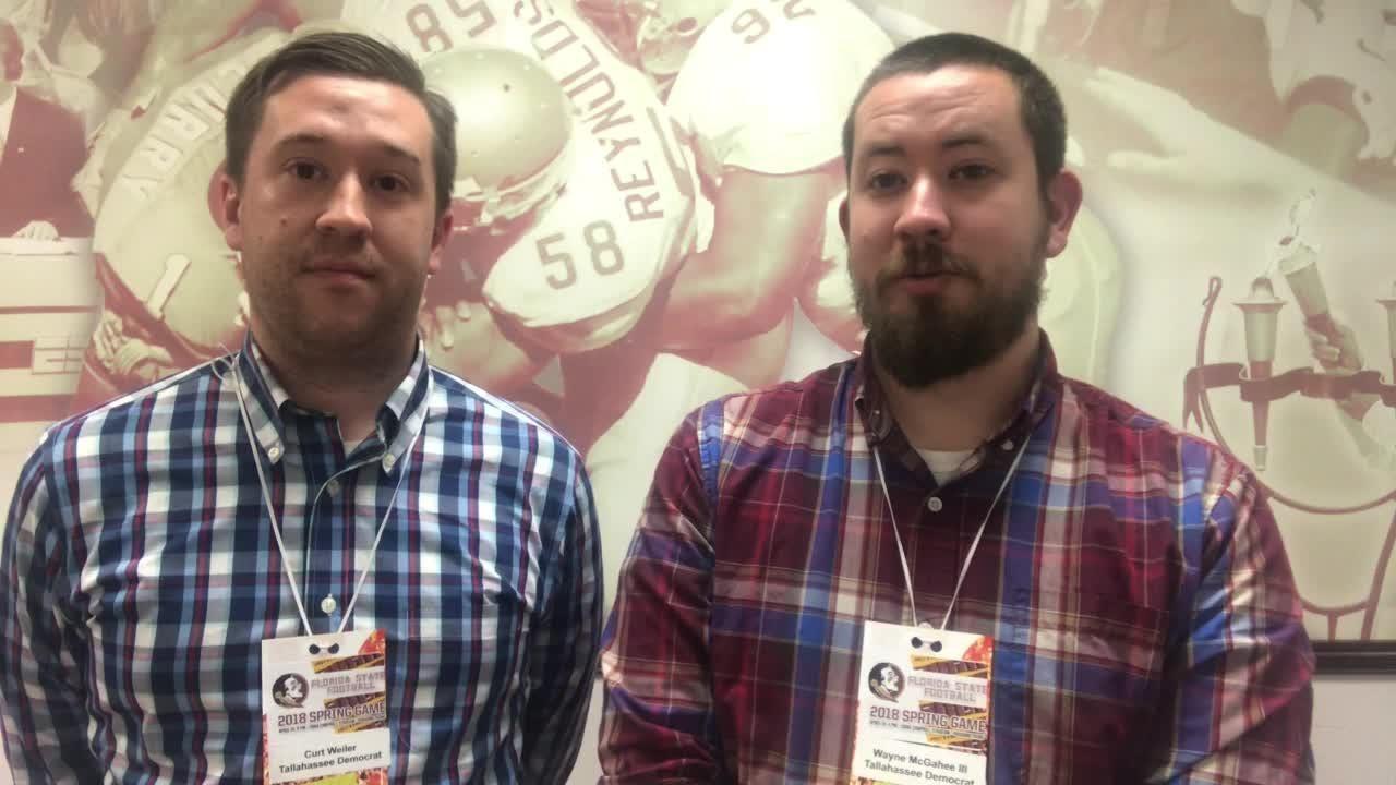 Wayne McGahee III and Curt Weiler break down FSU's spring game on Saturday.
