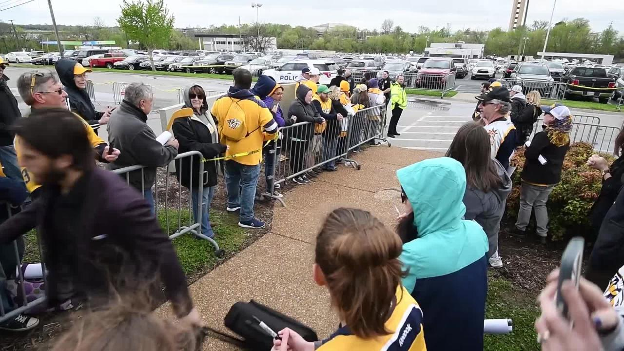 Predators leave for games against Avalanche