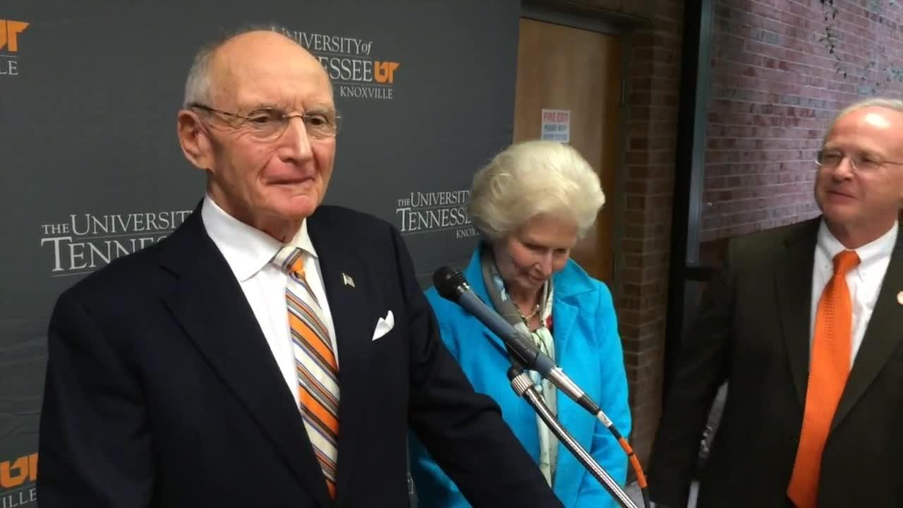 Originally published Oct. 2014: James Haslam discusses the donation and how it will benefit the University of Tennessee.