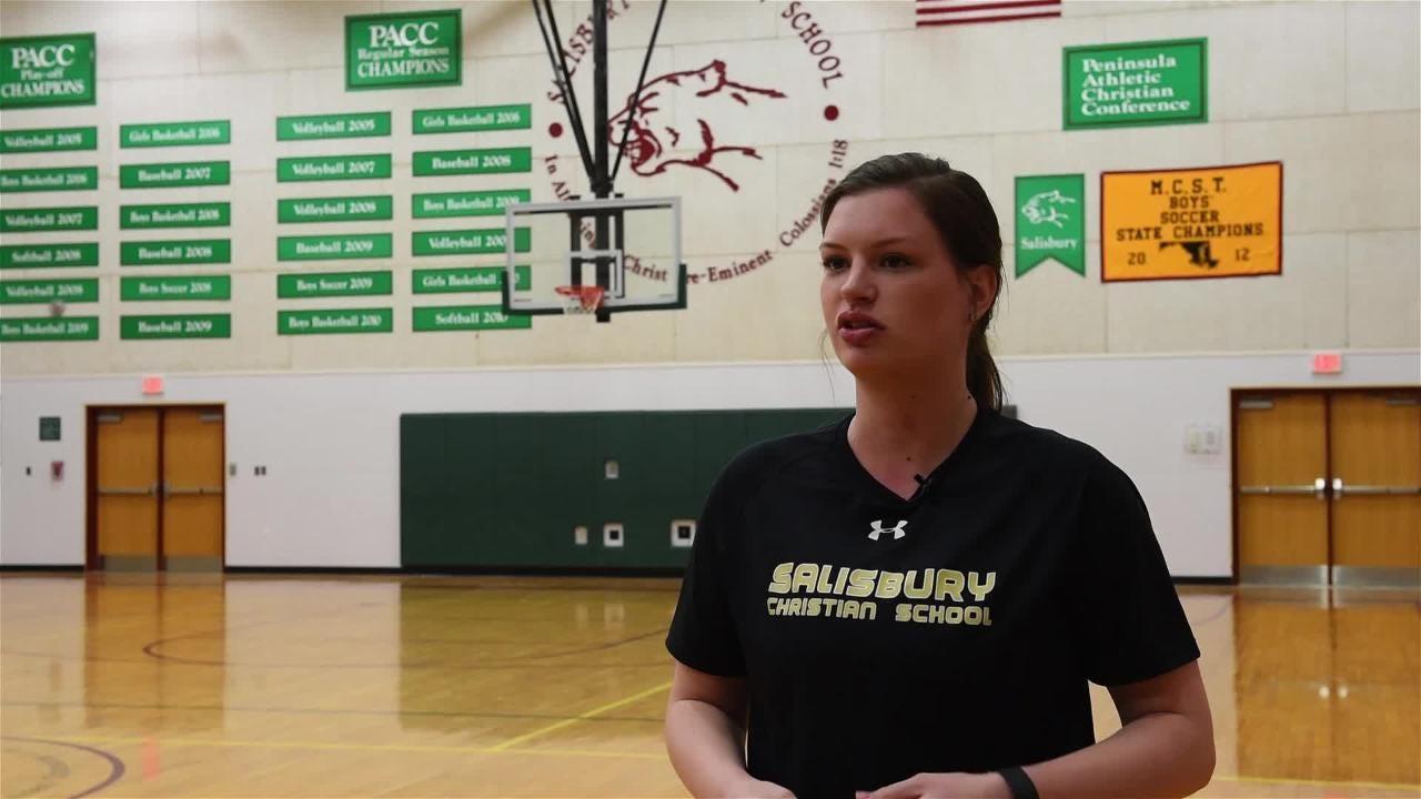 Rachel Johnson talks about her role as Salisbury Christian's new softball coach.
