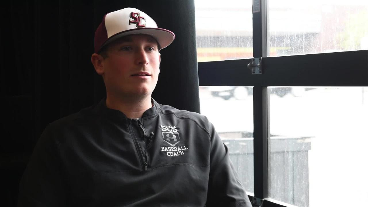 Jeff Geary talks about his role as Salisbury Christian's baseball coach.