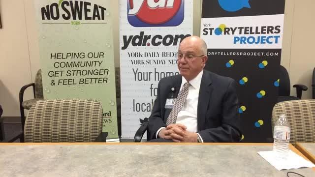 On Tuesday, the York Daily Record editorial board sat down to talk with the CEO of WellSpan Health, Dr. Kevin Mosser.