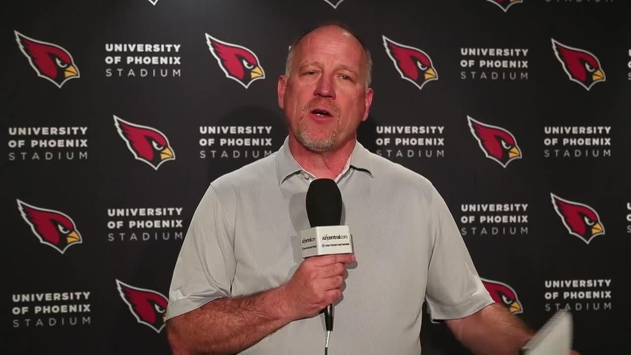Kent Somers reports from the Cardinals' first day of voluntary minicamp.