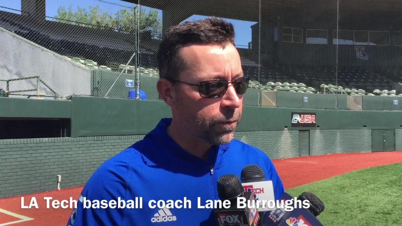 Louisiana Tech baseball coach Lane Burroughs dives into his team's recent road success ahead of trip to Louisiana-Lafayette.