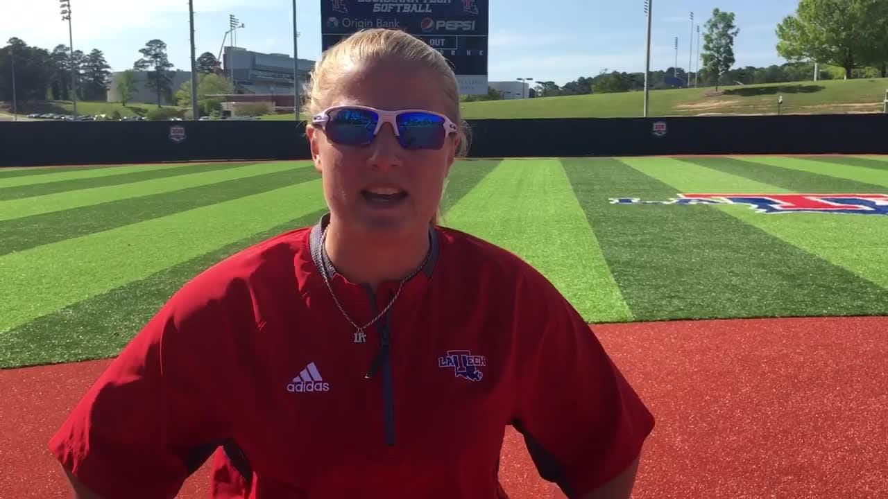 Lady Techster shortstop Katie Smith talks about her career.