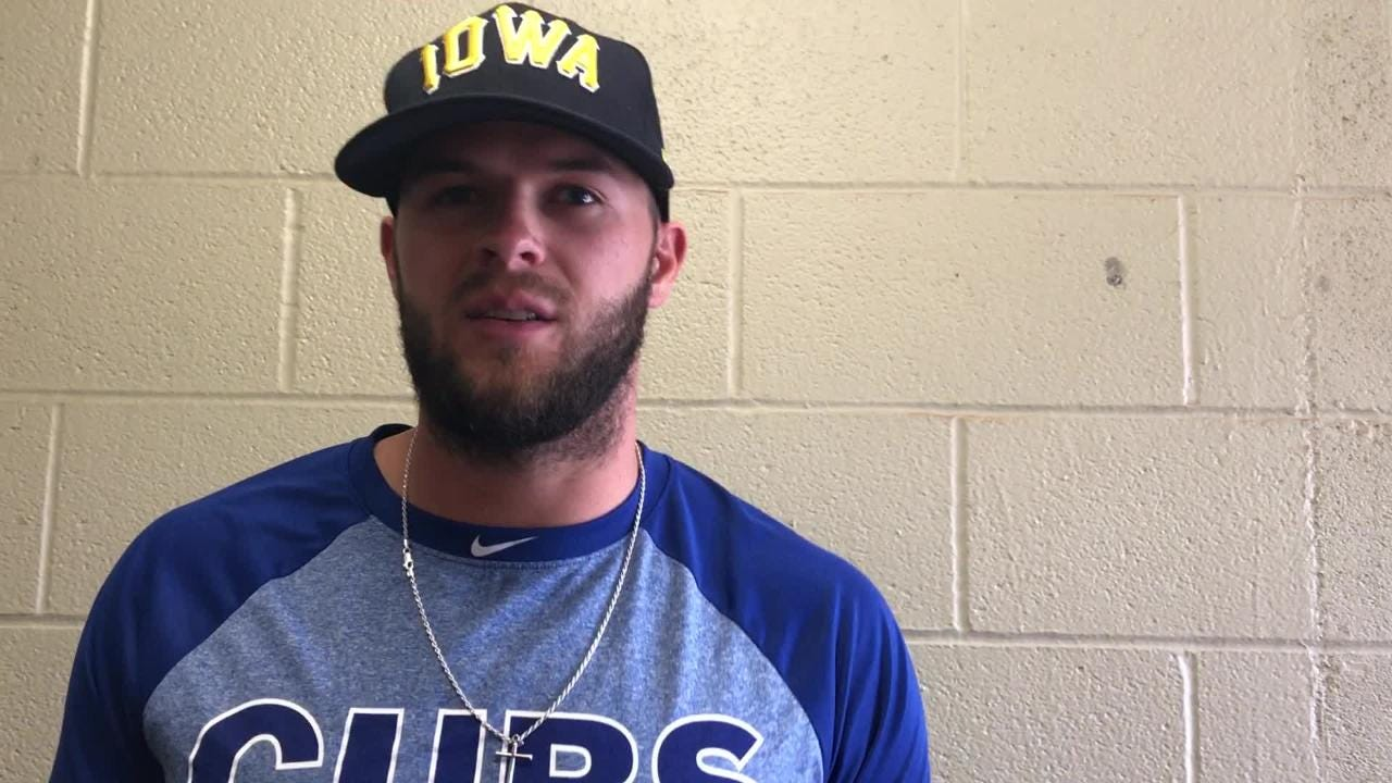 Iowa Cubs infielder David Bote on how things are going in 2018