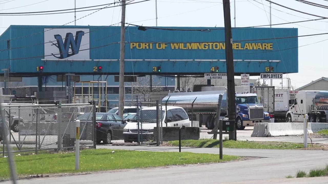 Multiple federal agencies currently are conducting a surprise compliance inspection at the Port of Wilmington's federally-bonded warehouses.