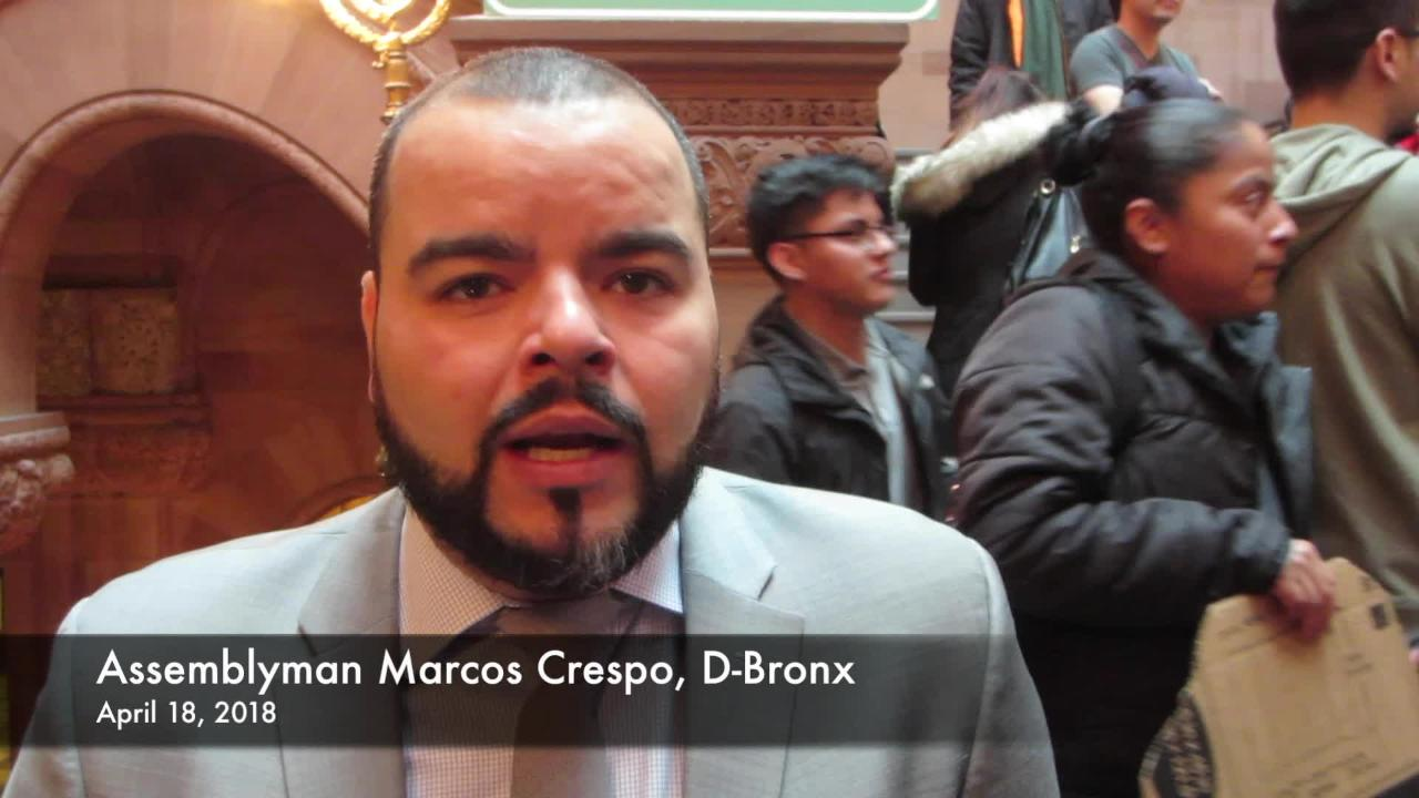 Video: Rally for licenses for illegal immigrants