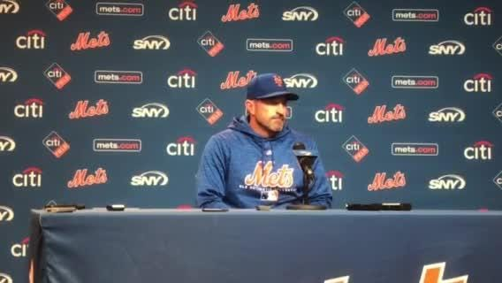 Mets manager Mickey Callaway discusses his team's comeback victory against the Washington Nationals.
